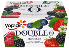 00% SKOGSBÆR 4X125G YOPLAIT